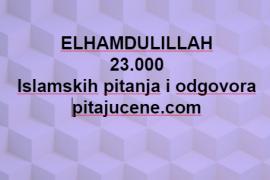 23,000 pitanja i odgovora
