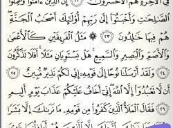 Kako se staje na ovoj riječi u suri Hud na str 224?
