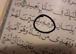 Šta znači ovaj znak u Kur'anu?